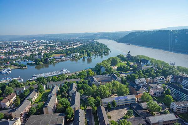 Flussansicht Koblenz