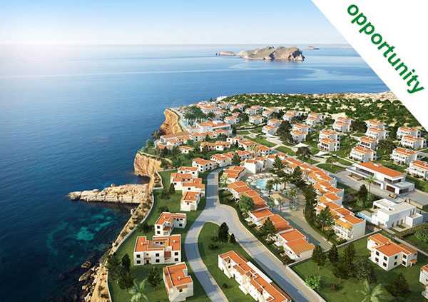 The 7Pines project in Ibiza guarantees its investors a return of 4% plus free holidays.