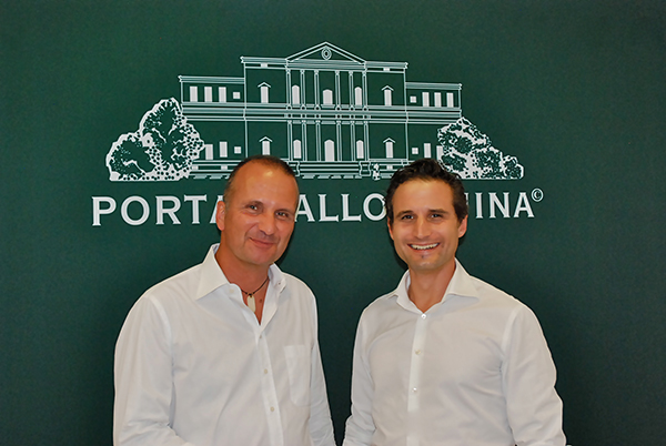 Porta Mallorquina CEO Manfred Biedermann (l.) with Regional Director North, Sebastian Boelger.