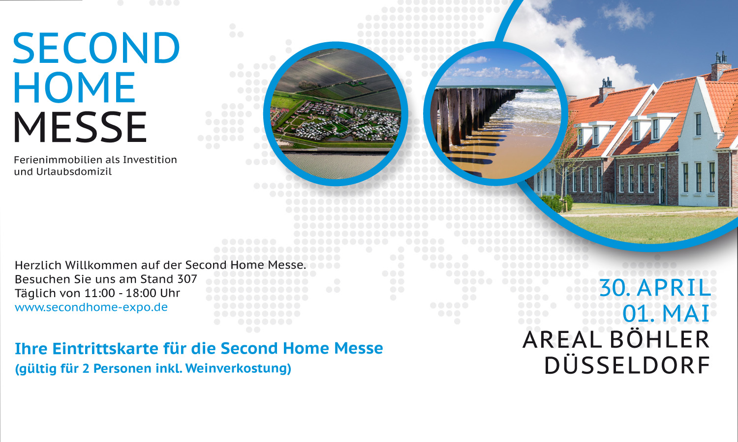 On 30 April and 1 May, the Second Home Trade Fair will be held in Dusseldorf. The Porta Mondial Group will, of course, be there.