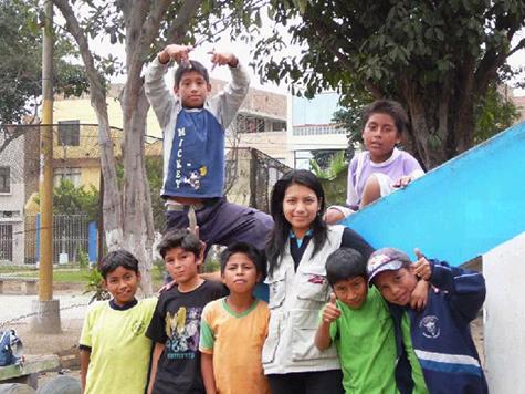 Mundo de Niños' motto is: Everyone has the right to a future